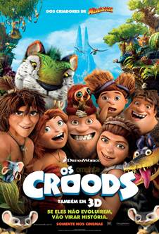 Download Os Croods Dublado RMVB + AVI Dual Áudio + Torrent DVDRip   Baixar Torrent