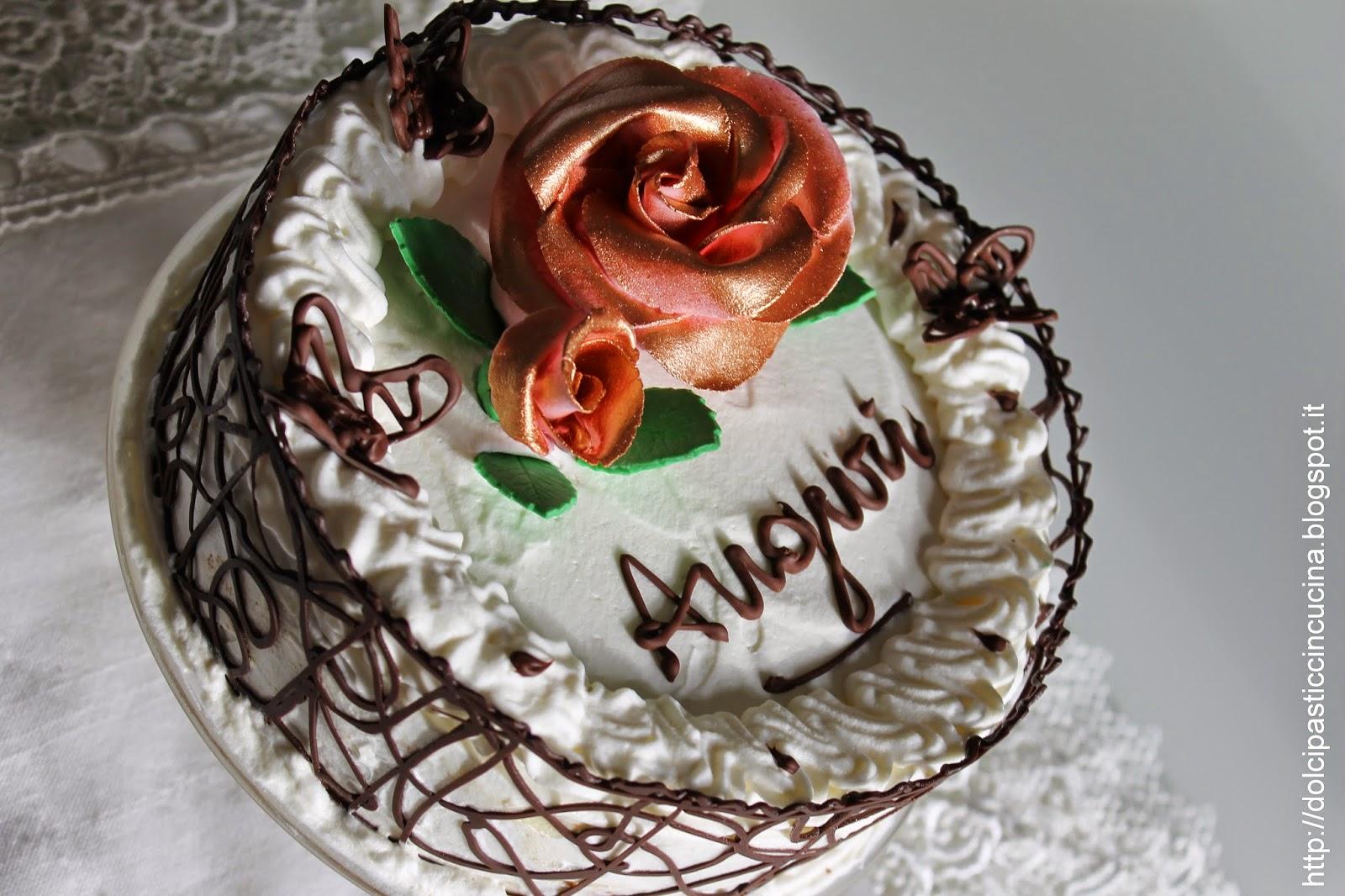 Incucinacolcuore torta di compleanno for Torte di compleanno al cioccolato decorazioni