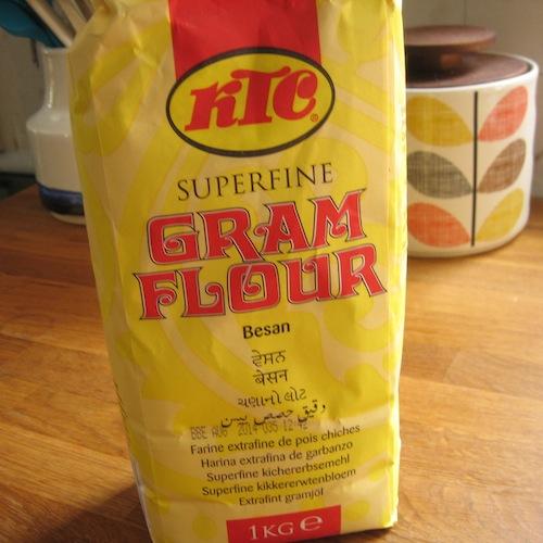 how to make gram flour