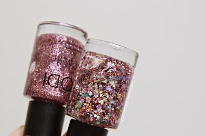 Review: Modi Art Nails set no. 1 - Glitter Layered Collection