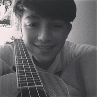 Greyson Chance with his Ukulele 2013