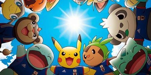 Pokémon será usado por Japón como mascota oficial en el Mundial de Futbol 2014   Pokemon34