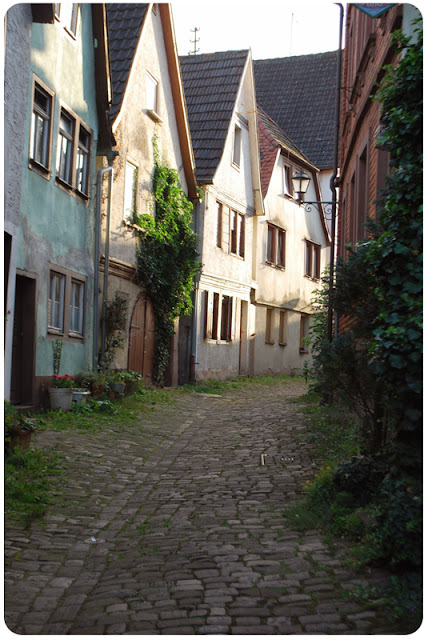 Muschelgasse in Lohr am Main