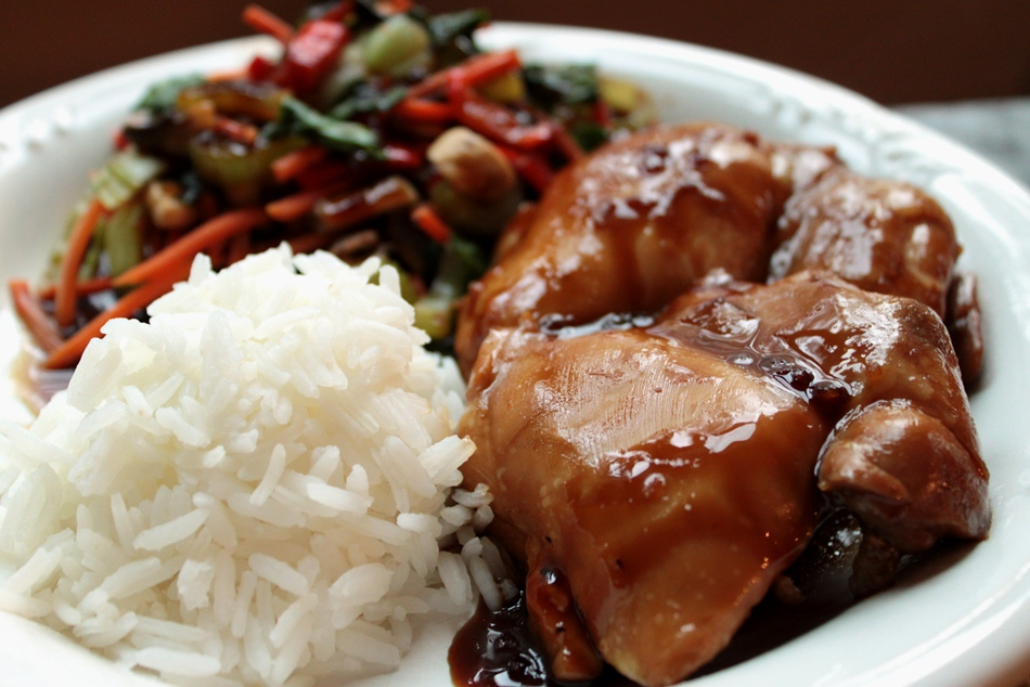 Teaspoon and A Pinch: Food Rule 37 and Baked Teriyaki Chicken
