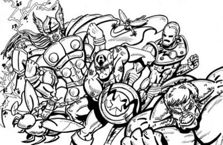 Great Avengers Coloring Pages