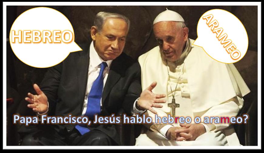 JESÚS HABLÓ HEBREO Y ARAMEO. Escuche los audios aquí.