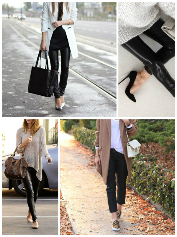 Fall 2014 Trends Leather Pants