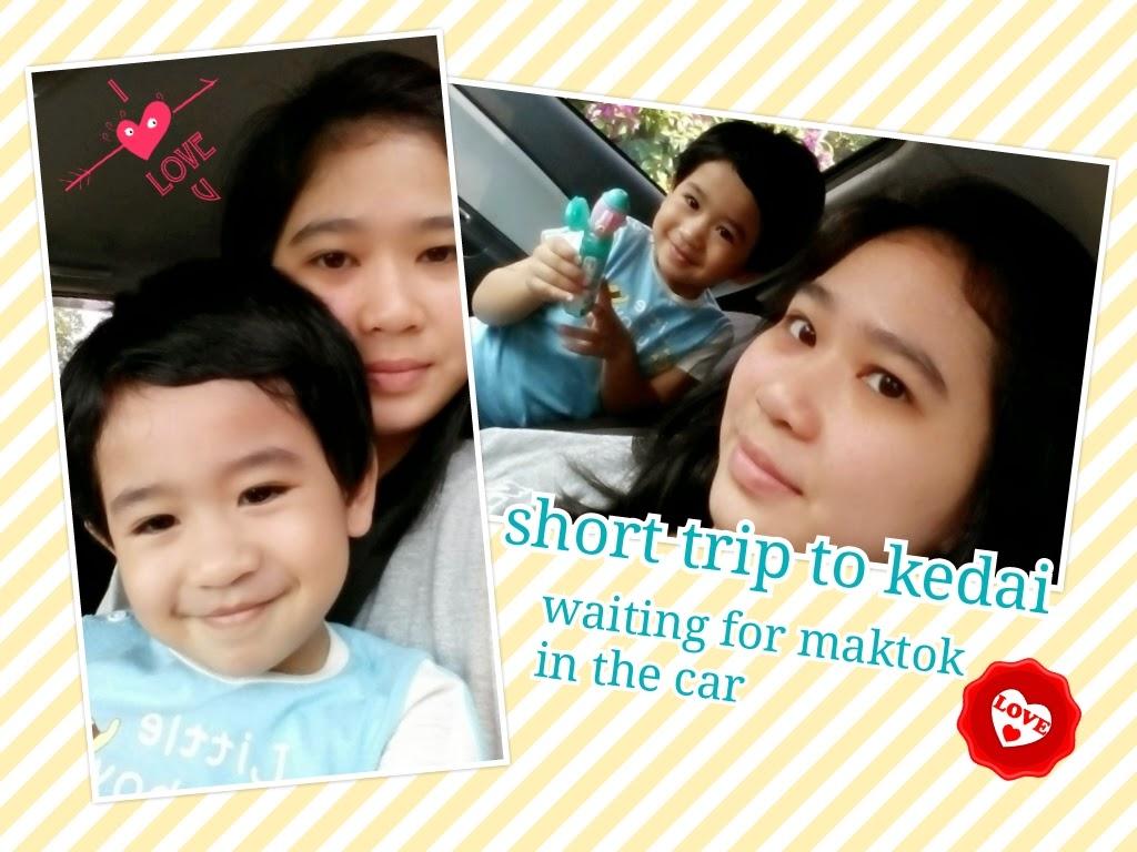 Short trip to kedai..