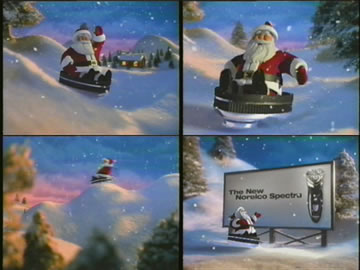 Norelco Christmas commercial animatedfilmreviews.blogspot.com