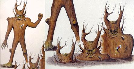 Paul Blaidell's concept art for the Tabanga