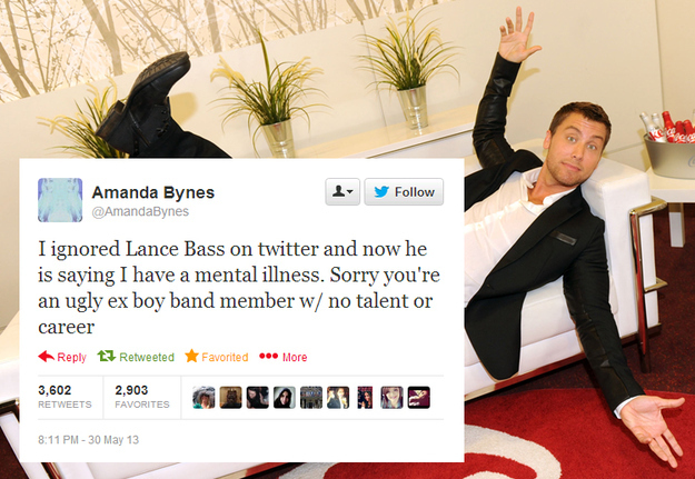 Bynes tweet Bass