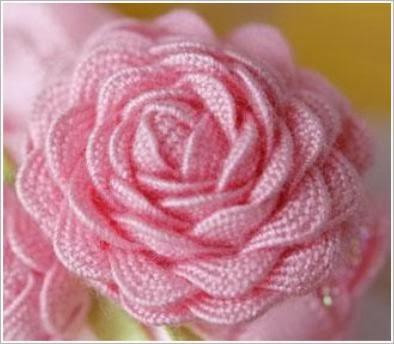 Цветок из тесьмы-вьюн