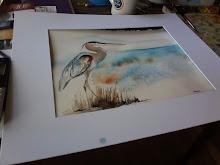 On my art table