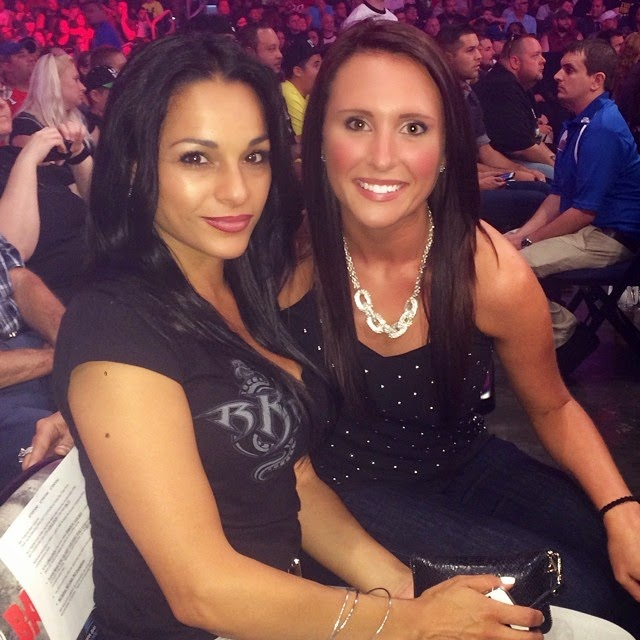 Girlfriend Of Randy Orton With Her Sexy Friend.