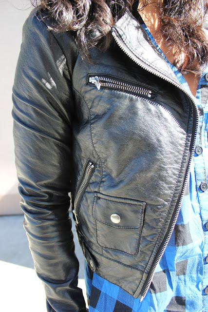 Leather Jacket from H&M