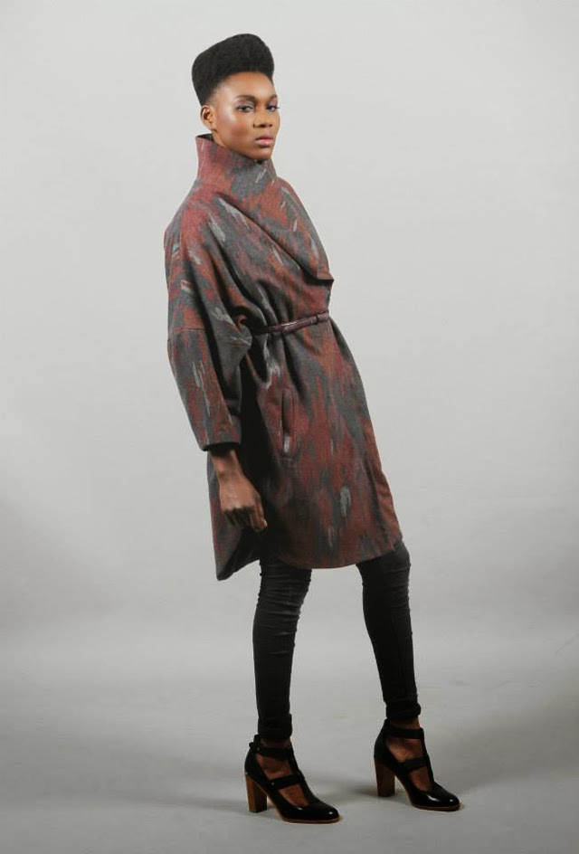 "London based African designer Bestow Elan A/W 2013 ""Glamour Dear""Collection"