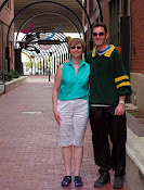 Wife and nephew at Dallas Alley