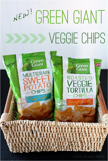 New Green Giant Veggie Snack Chips #AGiantSurprise by Love Grows Wild