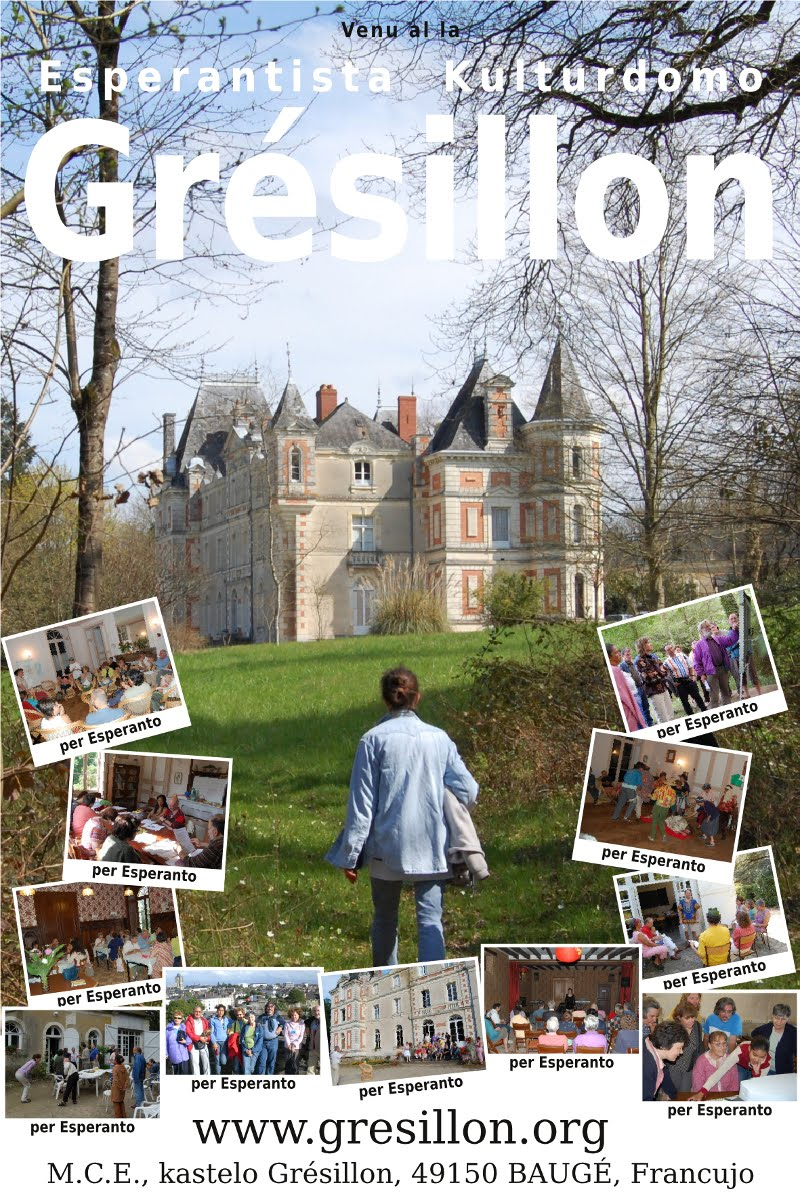 Castelo Cultural na França / Kastelo Greziljono