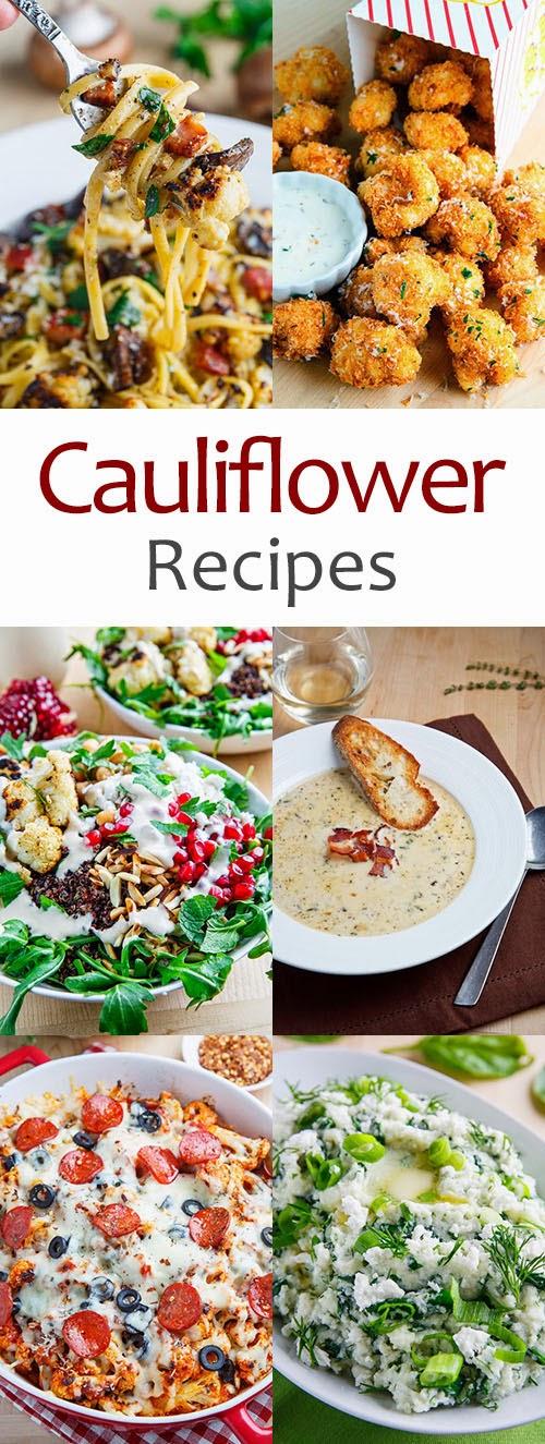 Recipe Index Cauliflower Recipes With Photos On Closet Cooking