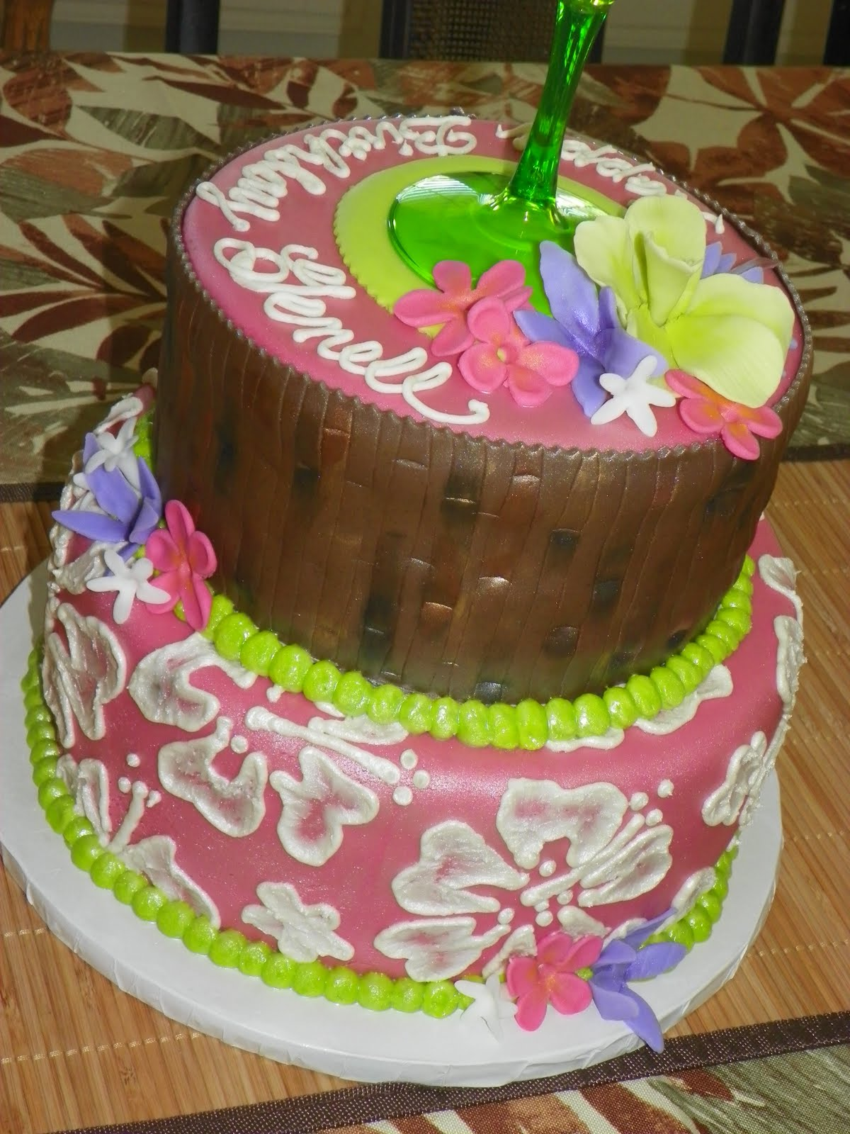 Plumeria Cake Studio Margarita Hawaiian Cake