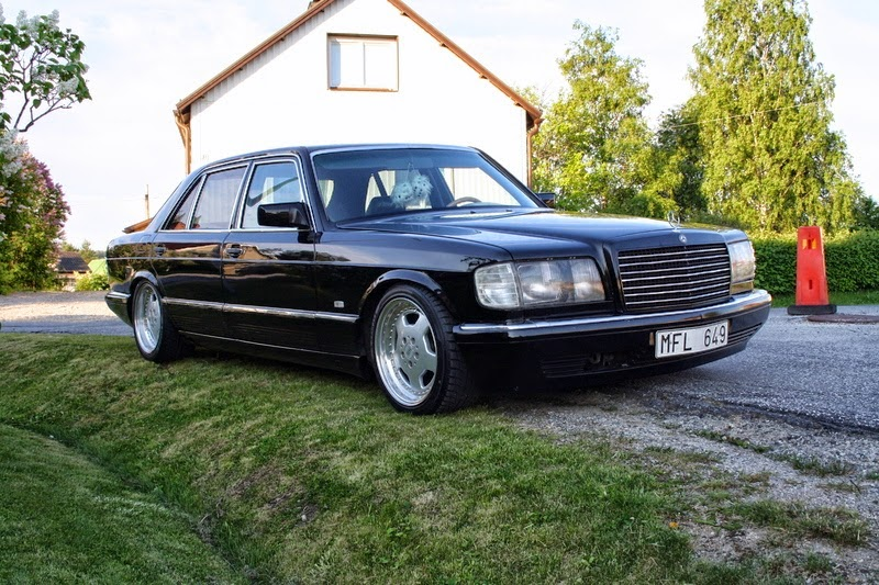 Mercedes benz w126 380sel benztuning for Mercedes benz w126