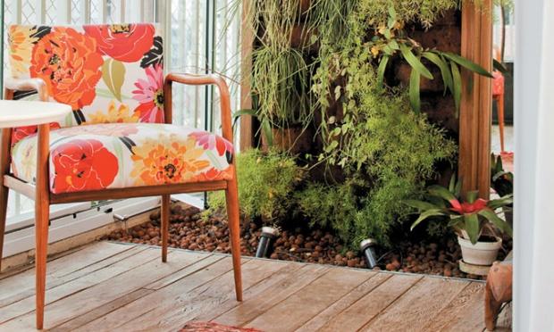 jardim vertical apartamento pequeno:Ideias para o Jardim: Jardim vertical