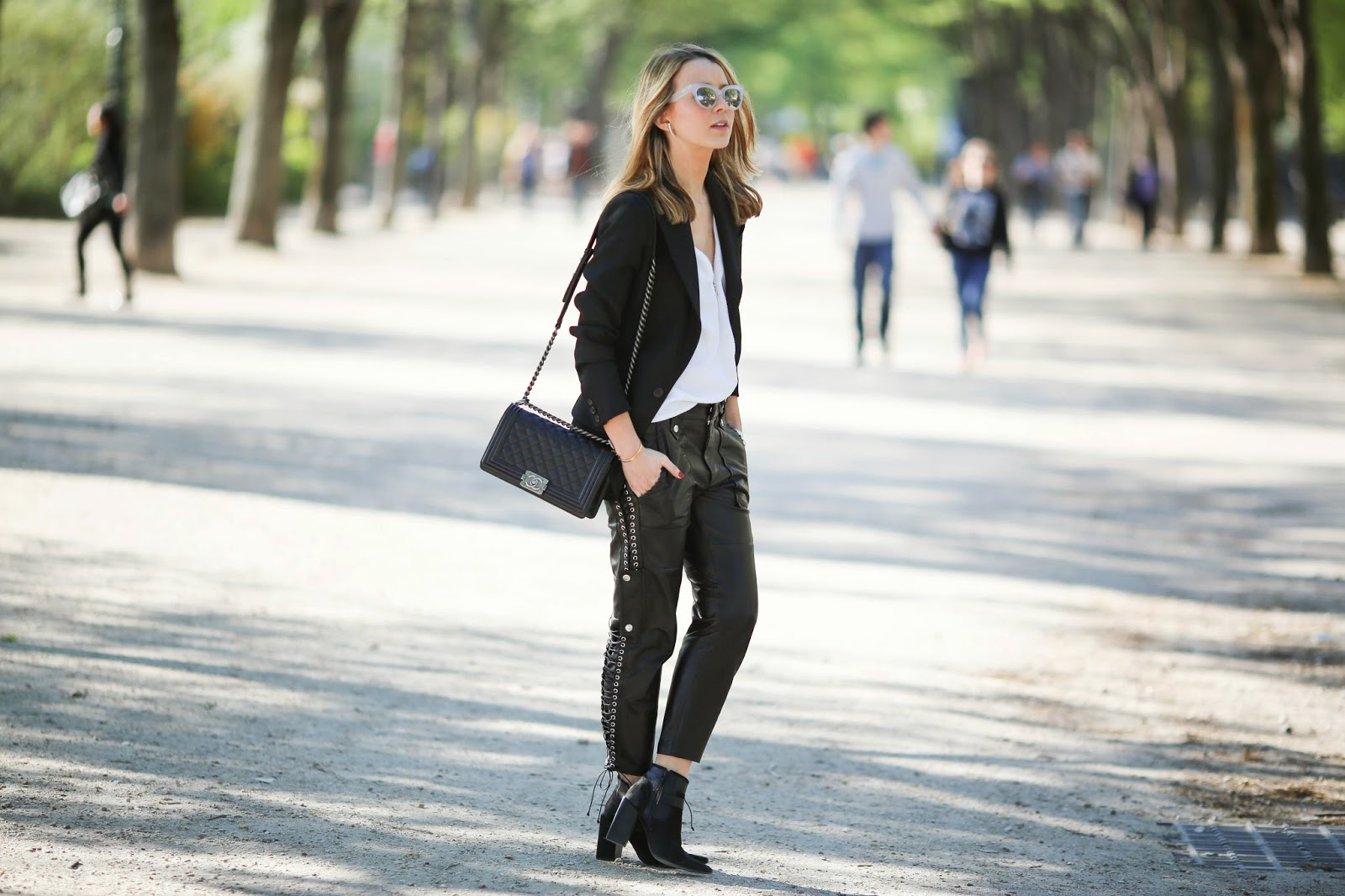 pardonmyobsession, isabel marant, the outnet, senso, sadnro, streetstyle, fashion blogger, paris