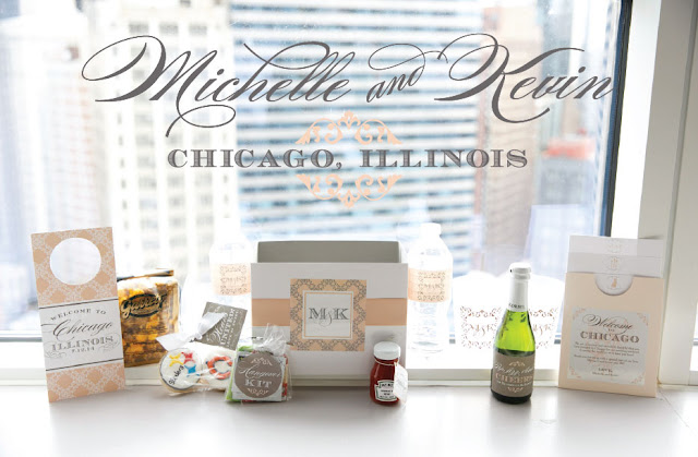 Chicago Wedding Welcome Box