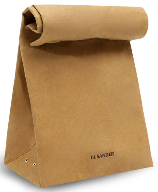 Jil Sander, Paper bag, Menswear, Fall/Winter 2011/12