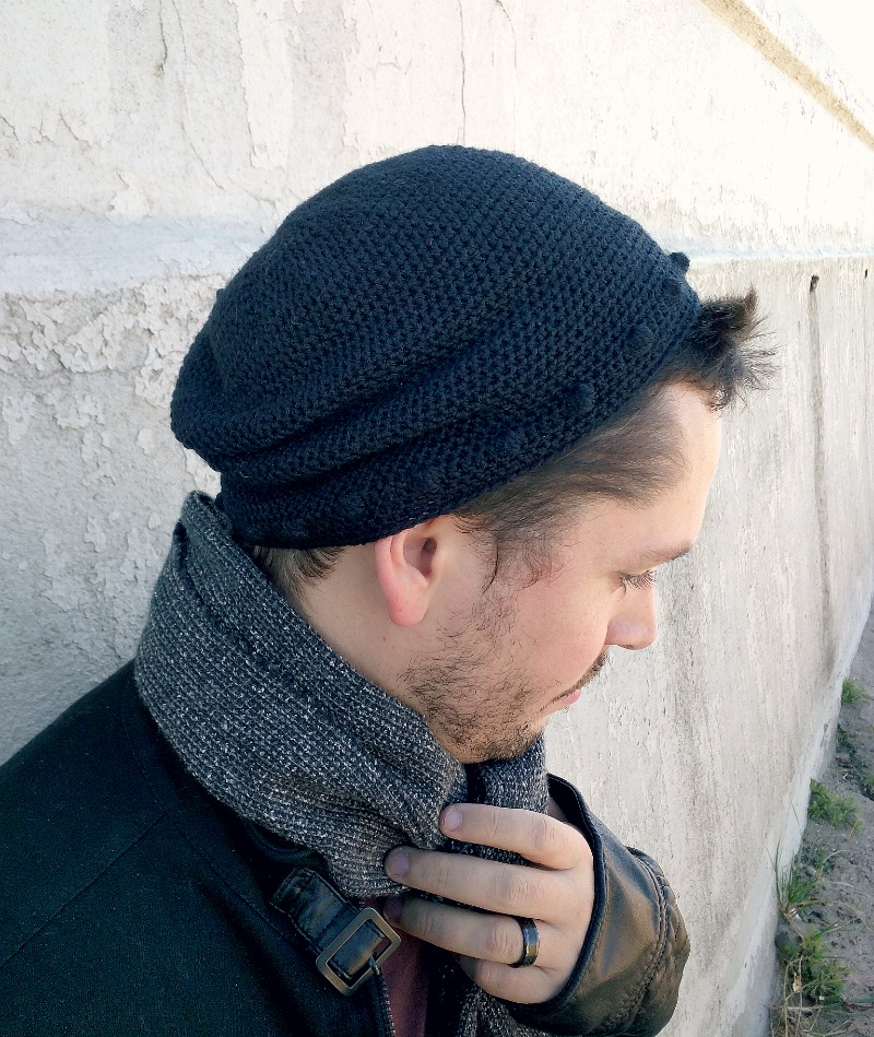 Crochet Mens Slouchy Beanie Hat Pattern ~ manet for .