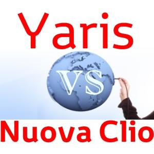 Confronto Yaris e Nuova Clio