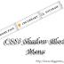 CSS3 Shadow Block Menu For Blogger