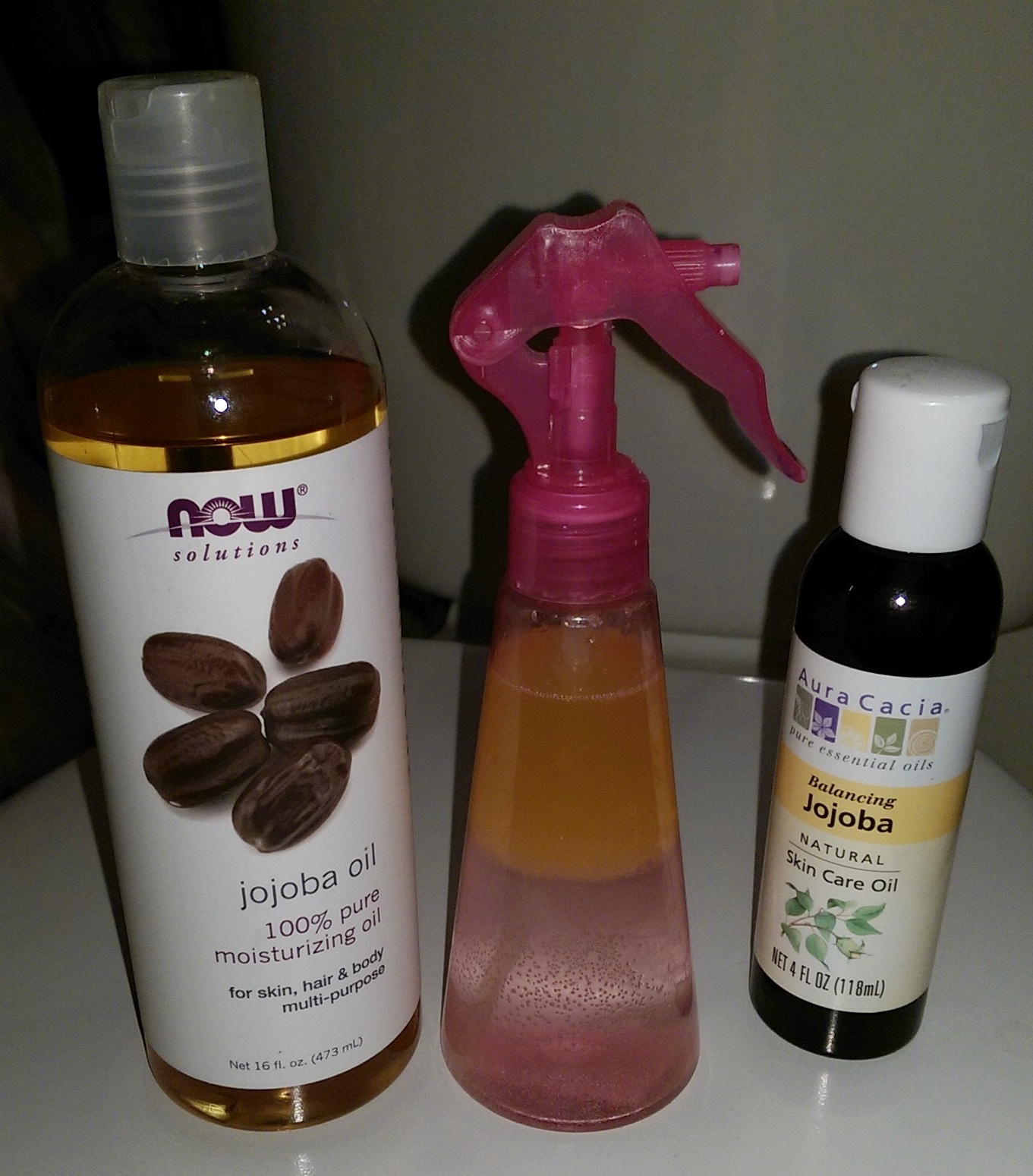 Jojoba oil hair products