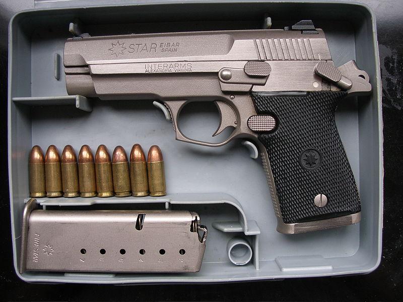 "Pistolas Star ""Serie Firestar"" Mod. M43,M40 y M45"