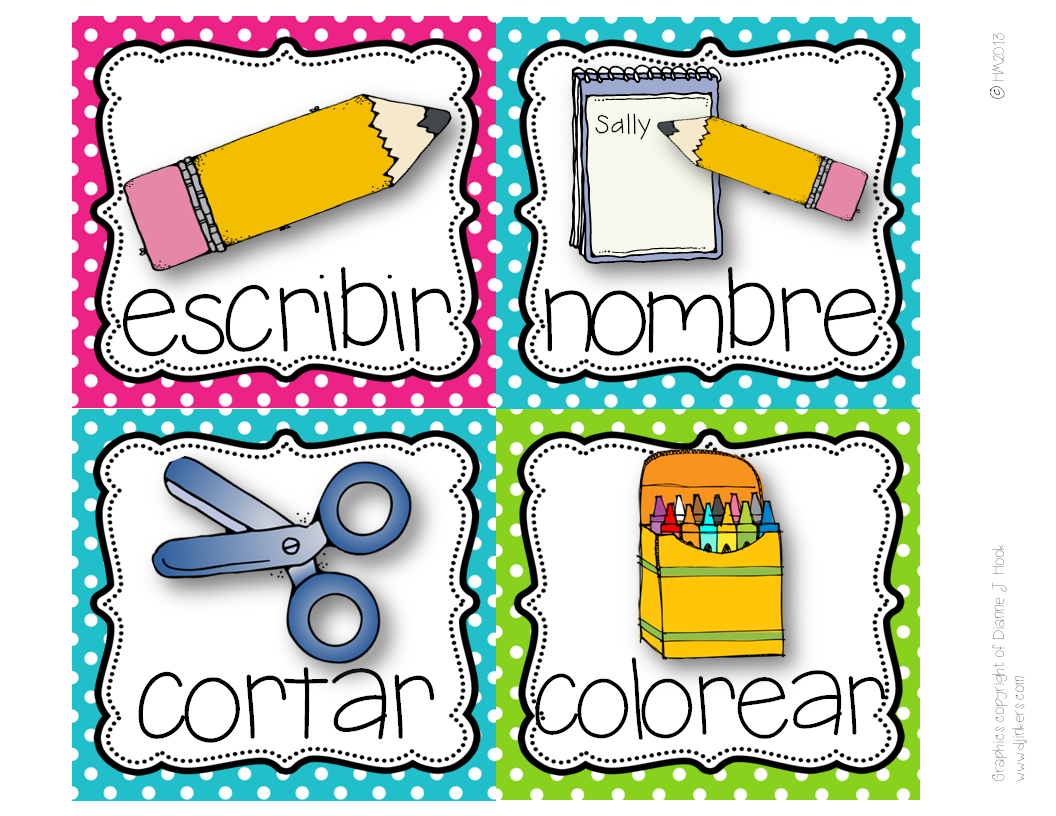 http://www.teacherspayteachers.com/Product/Picture-Direction-Icons-Spanish-825455
