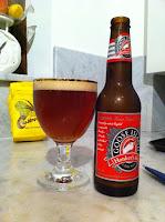 Att lagra öl. Goose Island Honkers Ale, hoonk hoonk