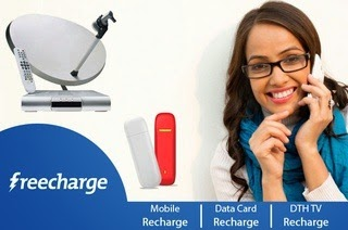 30% Cashback on Freecharge Online Recharge for Kotak Bank User