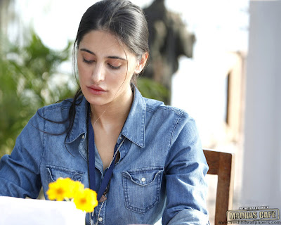 Madras Cafe - Nargis Fakhri at shooting