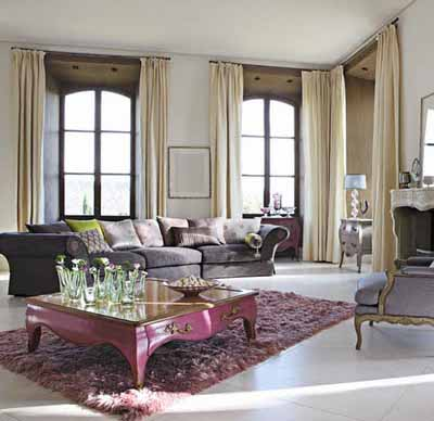 Foto Desain Interior Ruang Tamu Yang Mewah