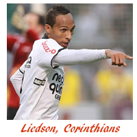 Liedson do Corinthians é o artilheiro do Brasileirão
