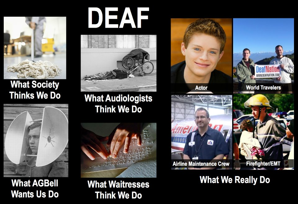 Deaf+M signs of life the brownie chronicles the meme what society thinks