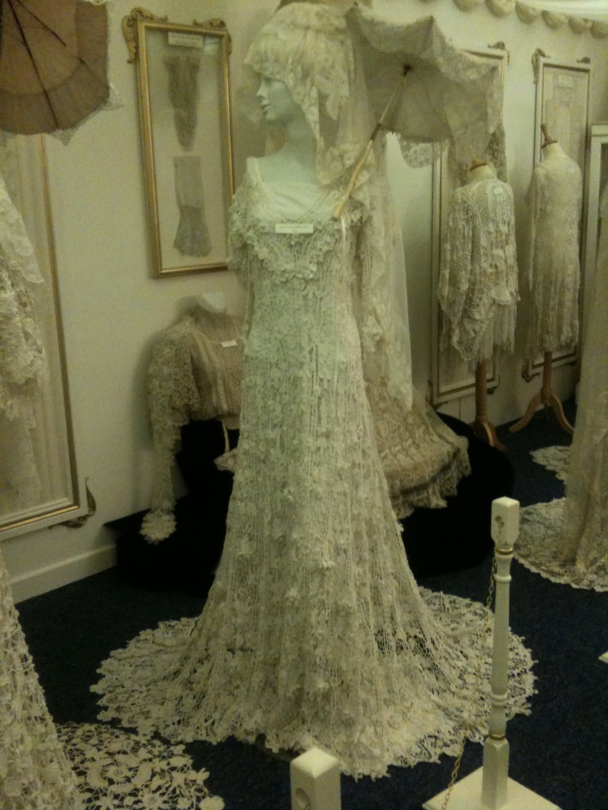 Rosemary cathcart antique lace and vintage fashion march 2011 for Lace antique wedding dress