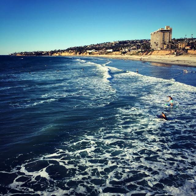 Mission Beach waves