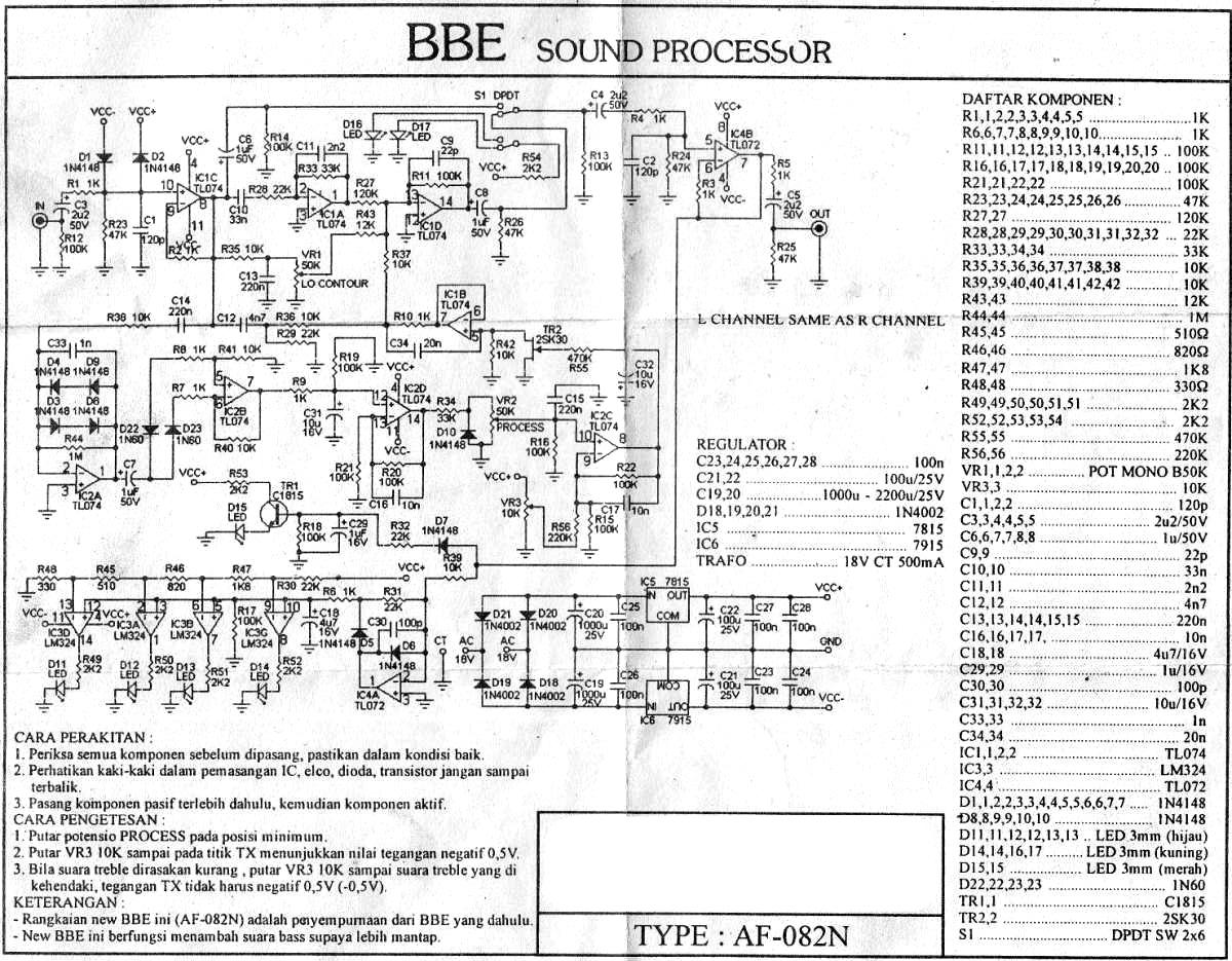 Awesome Audio Mixer Layout Dan Skema Adornment - Wiring Standart ...