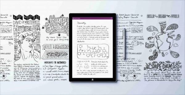 Surface Pro 3 with OneNote