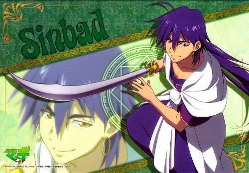 Magi: The Labyrinth of Magic Sinbad