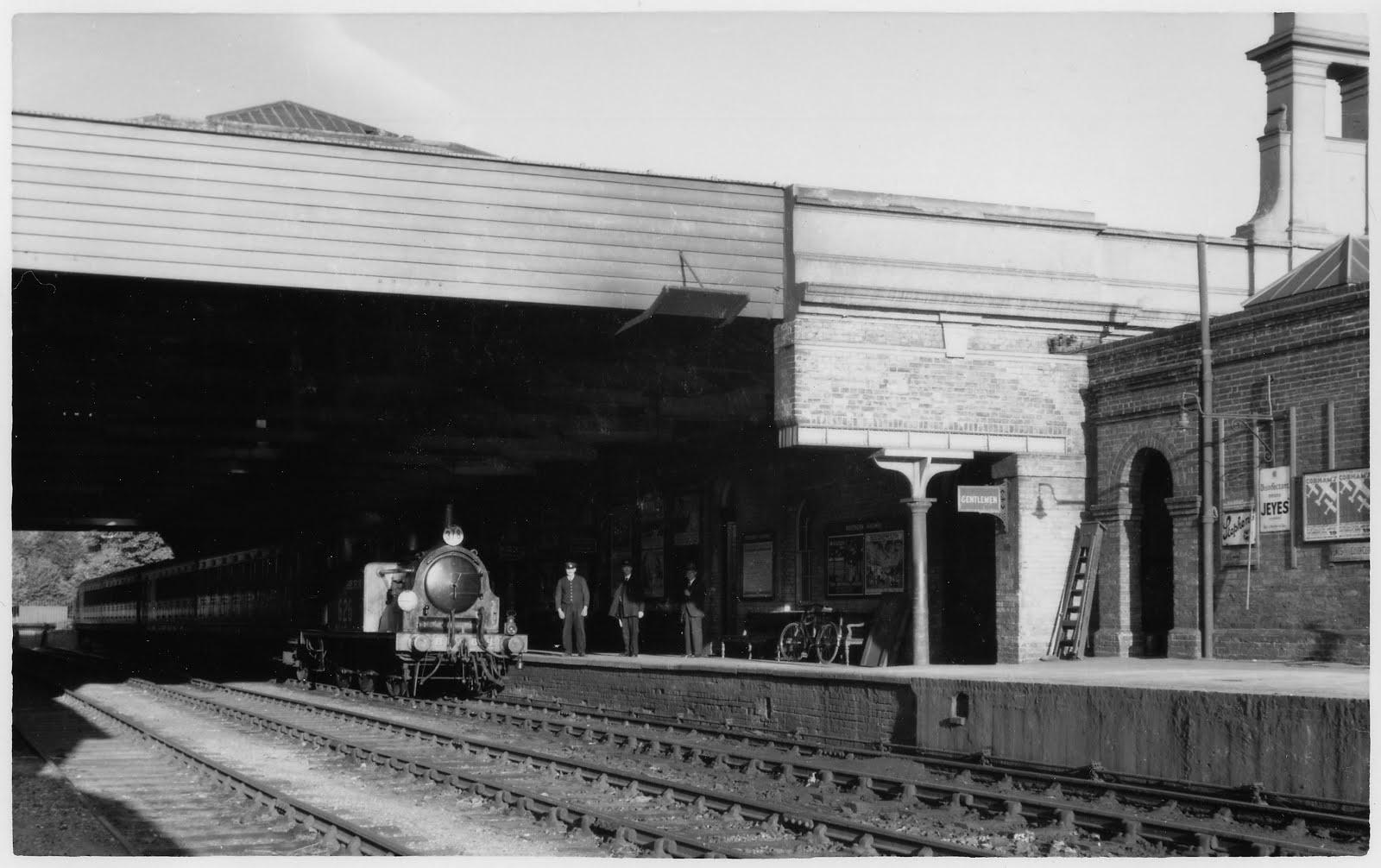 Gosport station post war