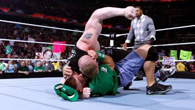 Brock Brings MMA to WWE on Last Night's Raw