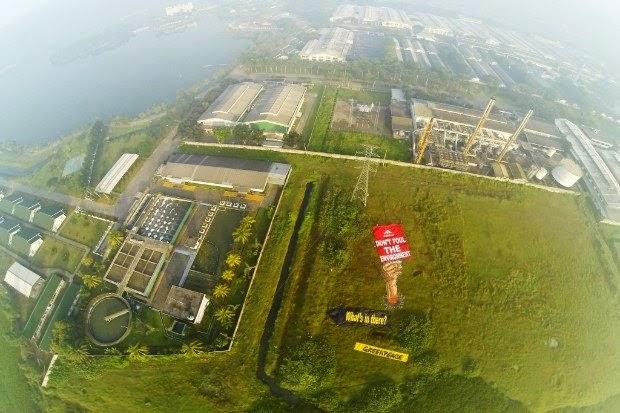 Greenpeace :  Adidas, Stop Kotori Lingkungan